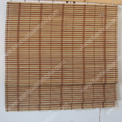 bamboo mini roller shutter/ roman window blinds