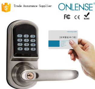 2015 luxury zinc alloy code combination emergency door lock