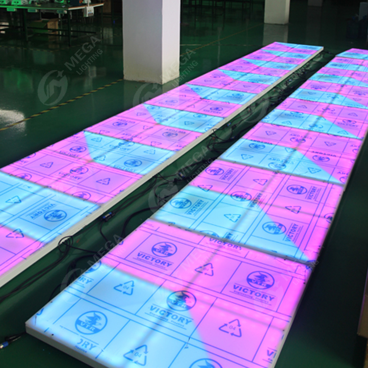 Mega led lights used dance floor for sale