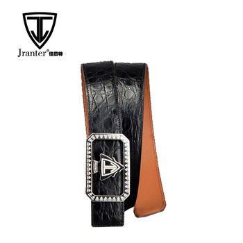 Fashion Alligator Leather Belt ,Custom Sizes Genuine Crocodile Leather Belt