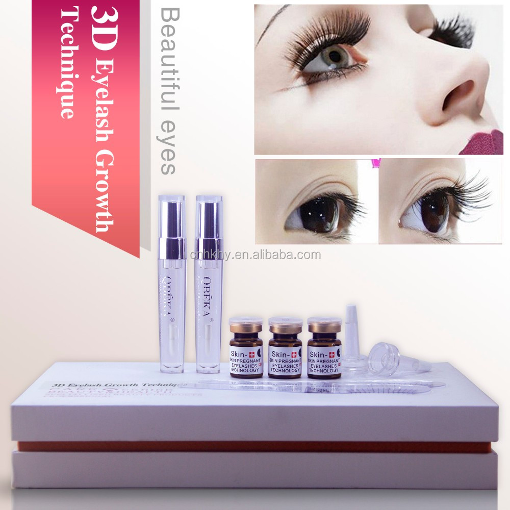 Wholesale Makeup New Item 3d Eyelash Growth Technique Fda Approved