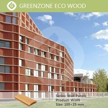 suitable for building facade wood plastic composite exterior wall cladding designs