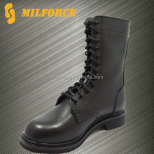 genuine cow leather goodyear cheap black men's delta force army combat boots