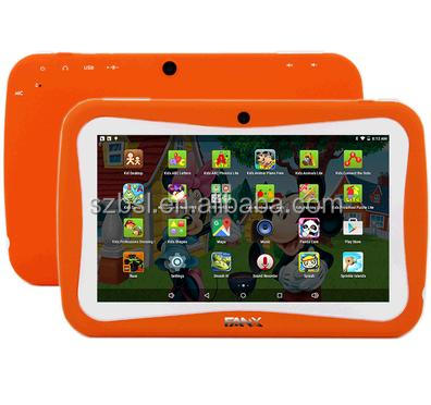 "Low price! Tablet for kids 7"" 1024*600 Kid Tablet RK3126 Dual core Wifi 512MB/4GB android 4.4 Play store G-Sensor"