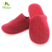 Hot sale cheap wholesale soft disposable hotel slipper