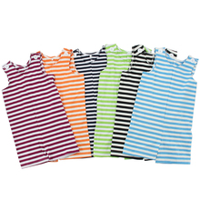 Wholesale boutique clothes cotton baby boys summer baby stripe romper baby clothing girl