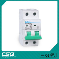 DZ47-63 under over voltage protection device Miniature Circuit Breaker