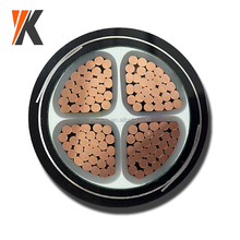 ZR-YJV22 0.6/1KV cu/xlpe/sta/pvc copper steel tape armoured cable 4 core 25mm 35mm power cable