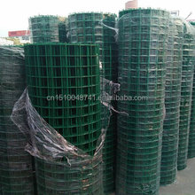 1/2 inch reinforced PVC coated Welded Wire Mesh for fence mesh use