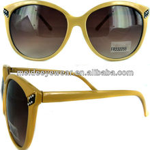 2013 fashion plastic sunglasses eyewear