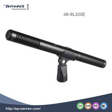 Handheld interview recording microphone rod microphone for cameras