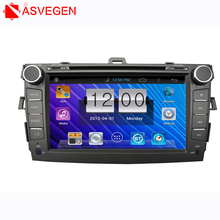 Wholesale!! For Toyota Corolla Auto Android 6.0 Car Audio GPS Navigation 2DIN Car Stereo Radio With Bluetooth USB