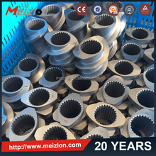 Meizlon Screw Element and Segment Screw Barrel from China Screw Factory