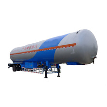 Tri-axle Transport Propane Gas Tank Used lpg Tanker Trailer for Sale