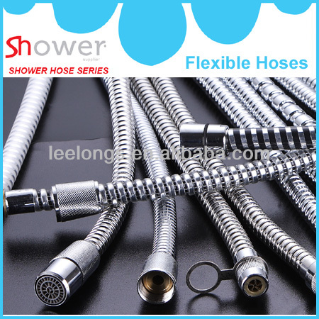 Leelongs manufacturing flexible shower hose pipe