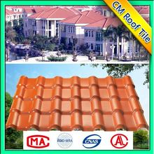 Environment Friendly Plastic ASA Wholesale Colorful Roof Tile Made In Spain