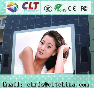 CE, RoHS approved outdoor P10, P16, P20 full color hd led video wall, indoor and outdoor hd led tv