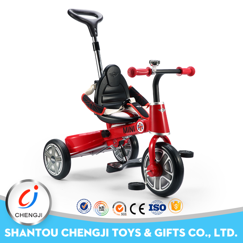 2016 Newest perfect design baby folding bicycle tricycle for kids