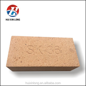High Alumina Brick SK32 SK34 SK36 SK38 Refractory Standard Brick Fire Clay Brick For Industry Induction Furnace