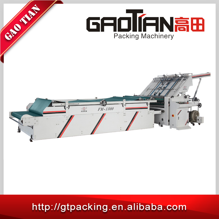 Best selling hot chinese reasonable price card paper flute laminating machine