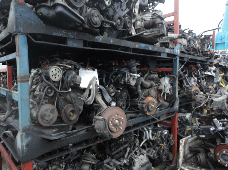 Scrap Car Engines from Japanese Used Cars