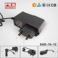 China alibaba ac dc 15w 12v 1.2a power adapter