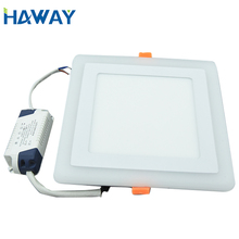 Outdoor 6w 12w 18w 24w 36w 48w 2x4 600x600 6060 12vdc surface mounted embedded round square ceiling led panel light
