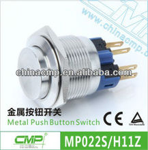 22mm Key Lock Pushbutton Switch ( 1NO1NC,Latching )