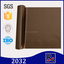 RX 2032# high quality fabric & leather metallized heat transfer polyester film