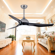 Modern Simple Style 3 Blades 52'' Energy Saving Air Cooling Ceiling Fan For High Ceilings