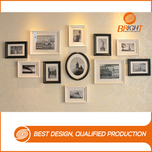 Classic Black And White Multi Wall Wood Photo Frames