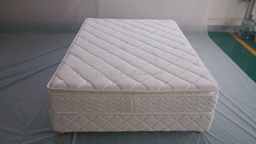 Pocket spring mattress with quilting/quilted coil spring mattress/spring mattress with memory foam - Jozy Mattress | Jozy.net