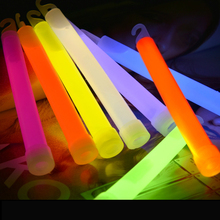 8Pcs 6 inch Premium 15mm Industrial Grade Glowsticks Emergency Light Sticks for Christmas