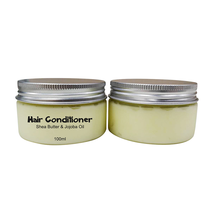 Private Label natural organic nourishing leave in shea butter hair conditioner for african hair