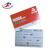 Best Selling Prepaid PVC Paper Scratch Card For Mobile Phones
