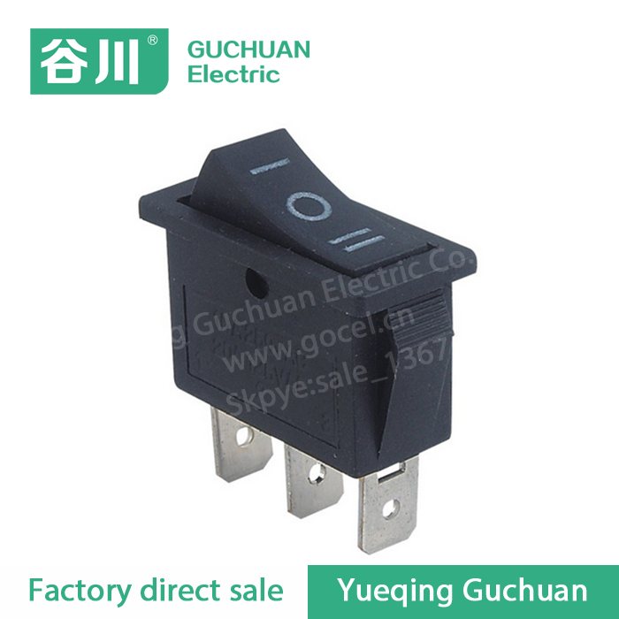 3 position 20A 125V rocker switch 3 pin micro switch KCD1-103 ON-OFF-ON