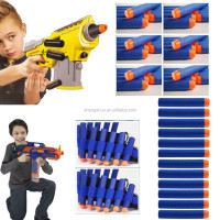 Pistola De Pressao Armas Pistola De Fogo 100/lot 7.2cm Soft Darts Refill Bullet For N-strike Elite Series Blasters Kids Toy Gun