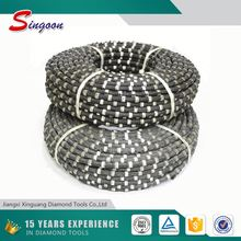 Granite Wire Saw Cutting Machine Accessory Rubber Wire Saw Rope Quarry Cutting Tools