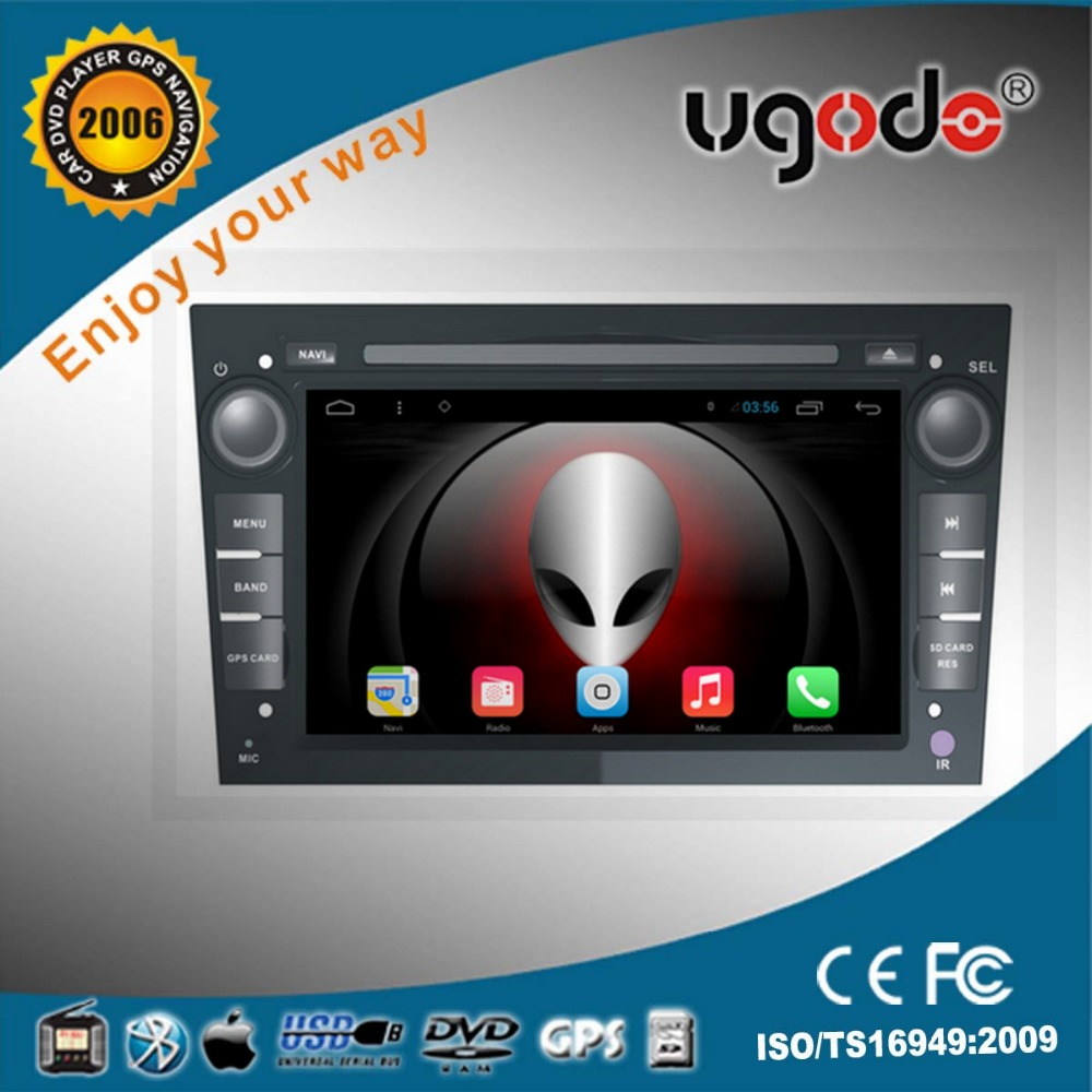 China factory 2 din android car dvd player for Opel Astra Bluetooth gps navigation