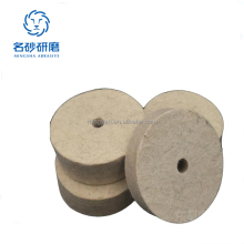 Felt Wool Polishing Buffing Wheel Discs Polishers Pad 4'' 5'' inch 100mm 125mm