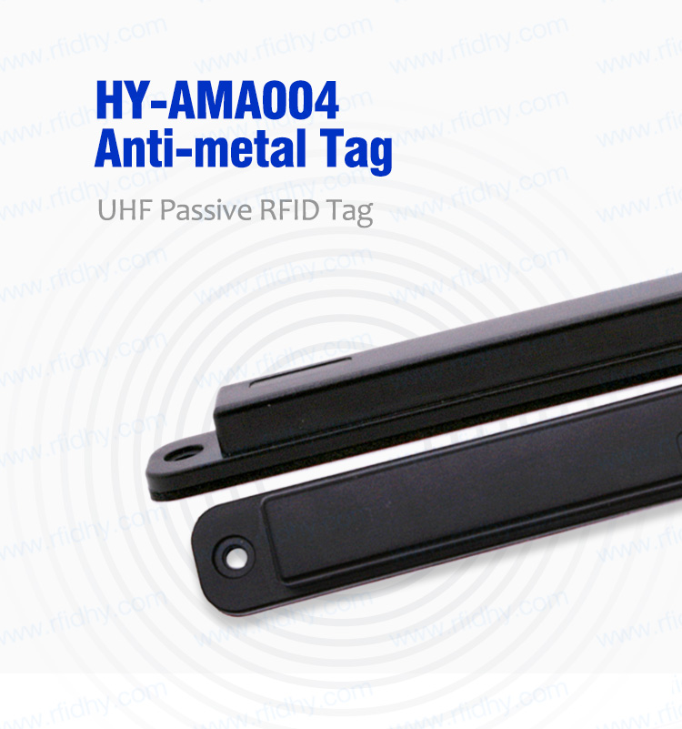 Waterproof IP68 HY-AMA004 Anti Metal Heat Resistant Thin RFID Tag