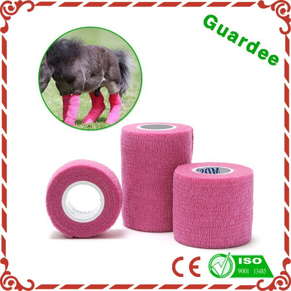 New Pet Products Adhesive Elastic Cohesive Bandage