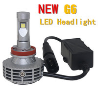 2016 New Product Auto Car Accessories G6 40W 3000LM All In One LED Headlight With Canbus