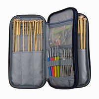 Knitting needles set with package bag crochet hooks with case knitting tools knitting needles