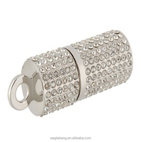 Usb Flash Drive Pendrive 64gb Pen Drive 16gb 8gb 4gb 32gb cute Crystal Diamond Necklace usb