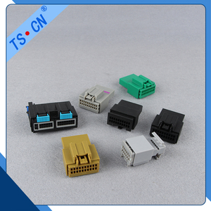 TS.CN 4 pin waterproof male female auto connector