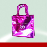 Full color wholesale vinyl tote bag