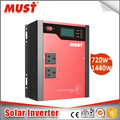 PWM charge controller power inverter 1440W 24V hybrid solar inverter PV1100Plus