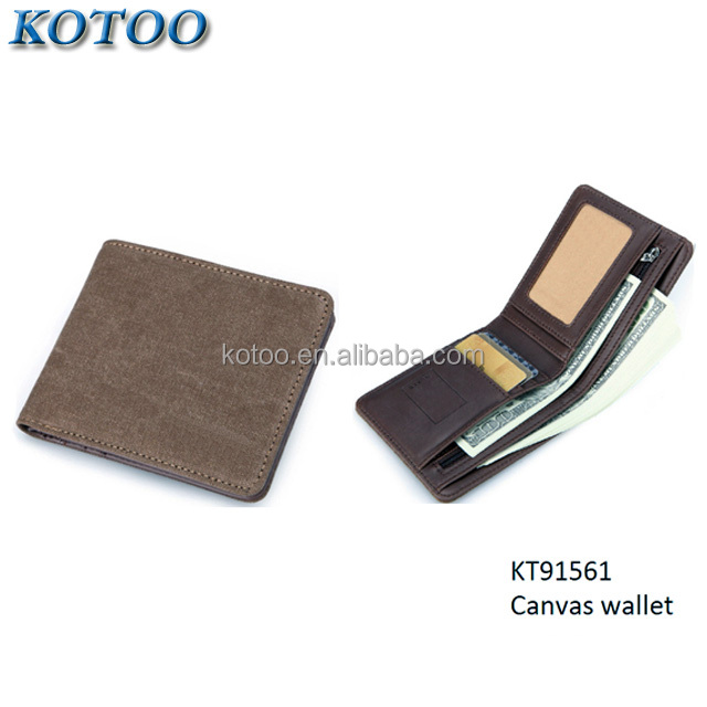 Cotton Canvas Men Wallet,Fabric Canvas Wallet,Men's wallet canvas