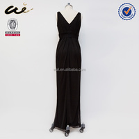 2014 latest fashion formal evening dress 2014 without collar;maternity gowns